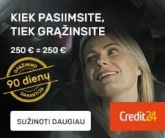 kreditai paskolos
